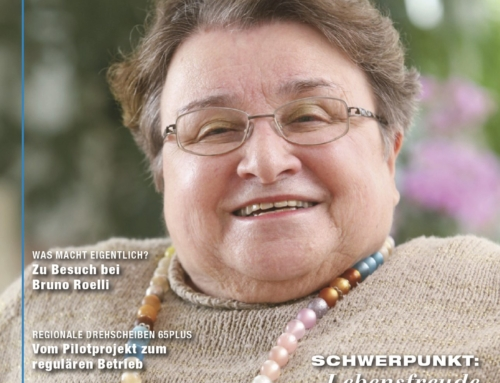 Hanne Müller im Magazin Zenit
