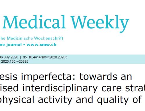 OI: Individualisierte interdisziplinäre Versorgungsstrategie – Erfahrungsbericht